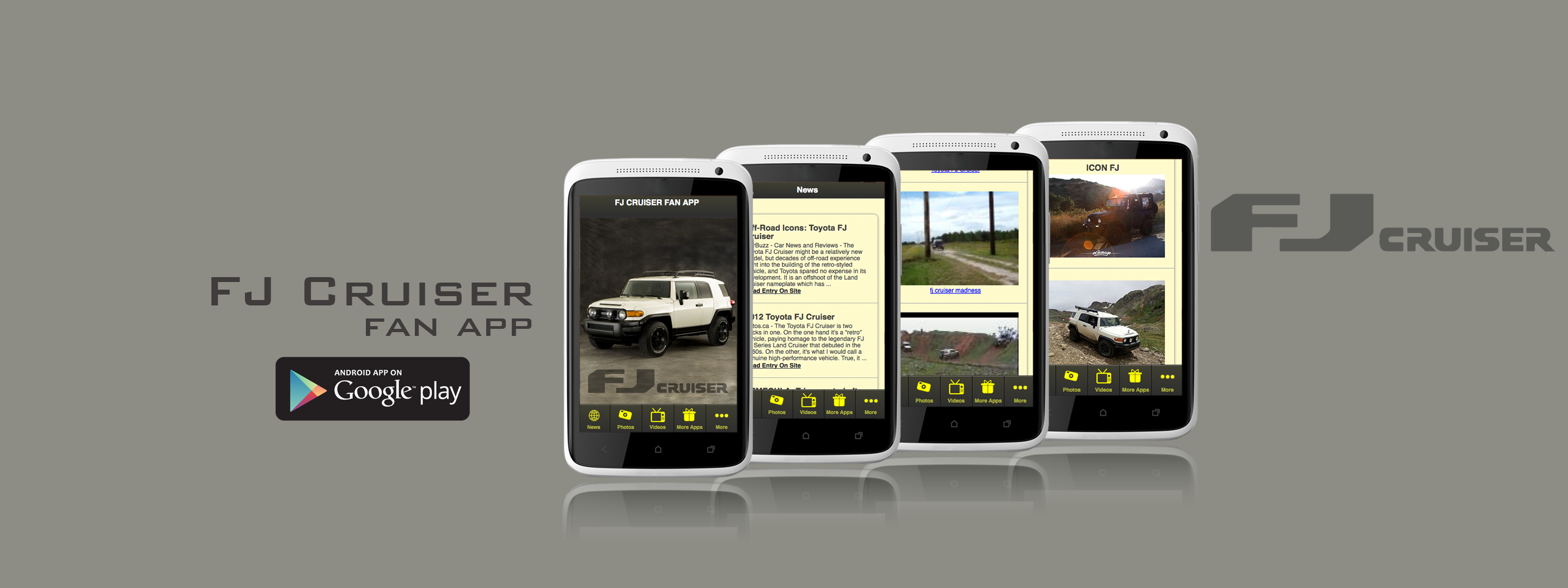 FJ Cruiser Fan App Has Been Launched