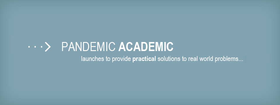 Pandemic Academic Launches