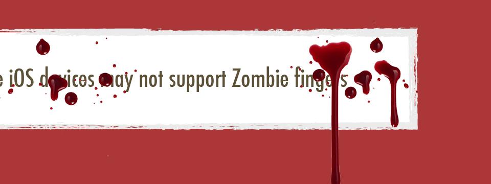 Zombie App Sneak Peek
