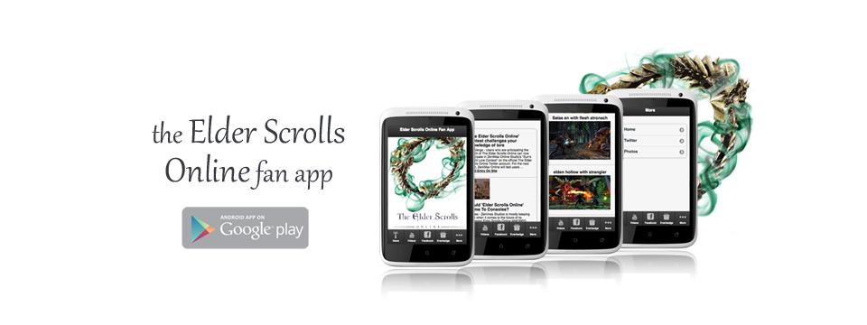 The Elder Scrolls Online Fan App Has Been Released